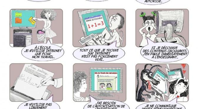 Charte internet pour les enfants