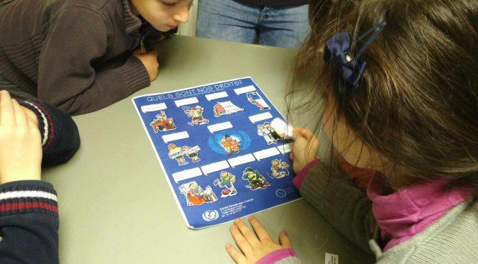 Atelier Droits de l'enfant CE1
