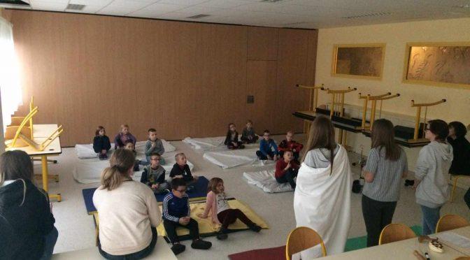 Atelier Sommeil Semaine de l'enfance Lycée Val de Lys